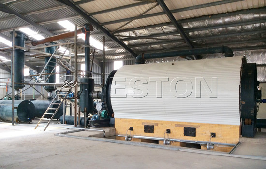Beston Waste Tyre To Oil Plant Installed in Jordan